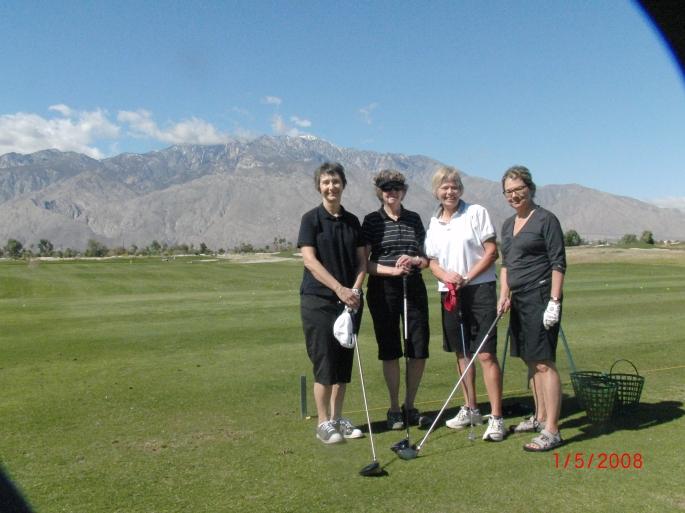Palm Springs Golf School March 2013