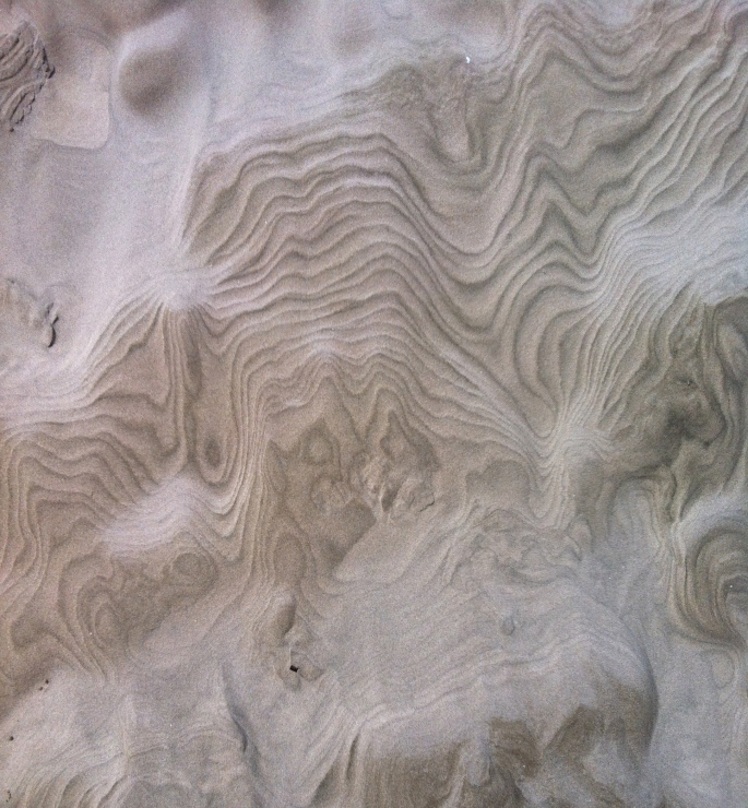Mother Nature's art in the sand
