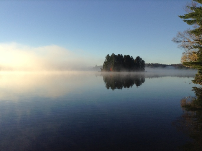 Early morning Algonquin Park, Ontario
