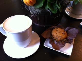 Simply Biscotti Pumpkin Muffin